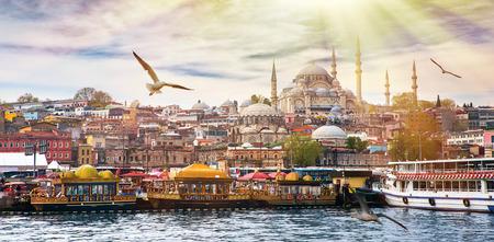 Istanbul the capital of Turkey, eastern tourist city. Фото со стока - 42099027