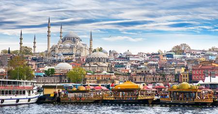 터키 이스탄불의 수도, 동부 관광 도시.