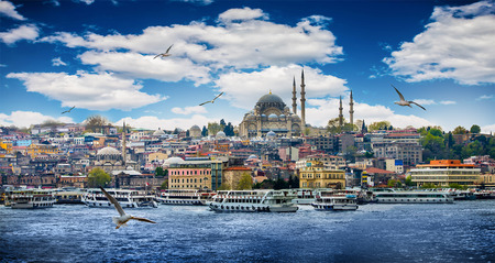 turkey istanbul: Istanbul the capital of Turkey, eastern tourist city.