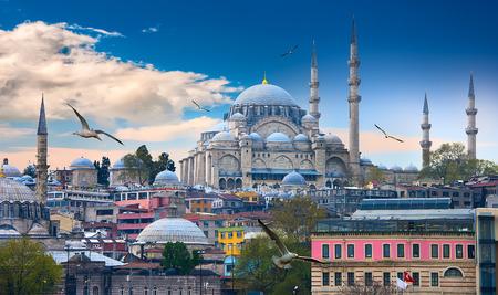 Istanbul de hoofdstad van Turkije, Oost-toeristische stad.