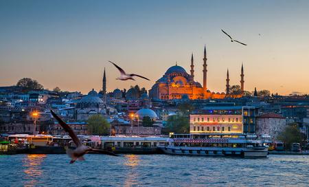 turkey: Istanbul the capital of Turkey, eastern tourist city.