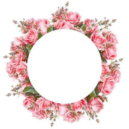 Hermosas rosas y la mariposa, flor, fondo floral