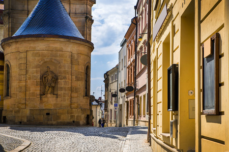 Historical sights of Olomouc in the Czech Republic. European city. Stock Photo