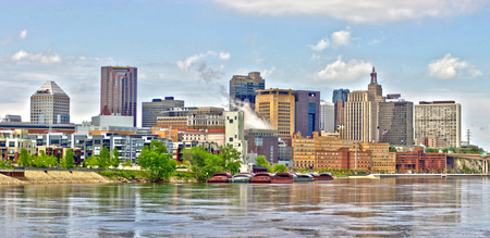 Saint Paul Skyline HDR