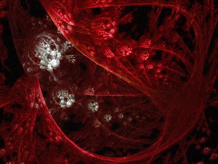 Een glimp in een conceptueel bloedvat, waar bloedcellen gemakkelijk zichtbaar zijn. Stockfoto - 71333757
