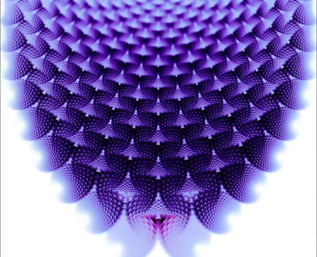 A mesmerizing and repeating fractal pattern.