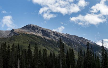 A gradually sloping mountain in Kananaskis country. Stock fotó