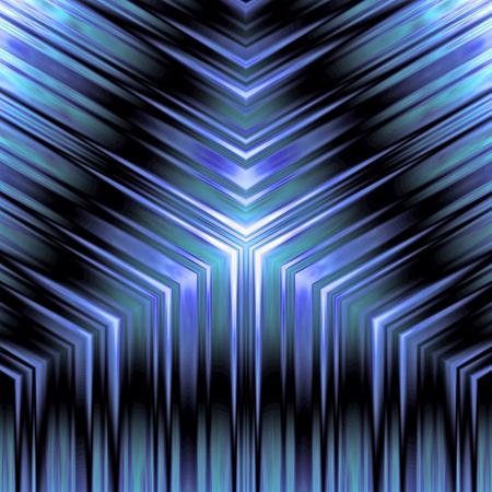 A shiny metallic pattern illuminated in cool blue. Stock fotó