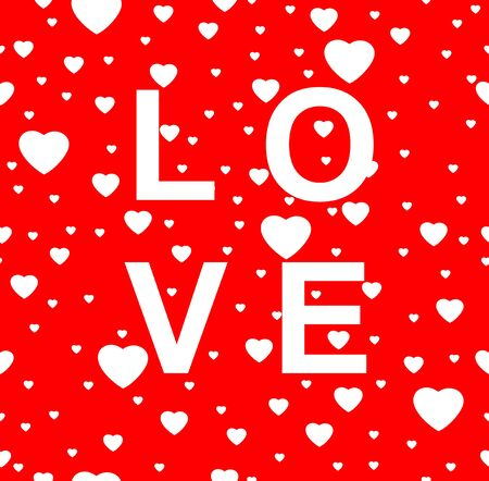 Valentines Day Heart Illustration
