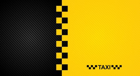 Racing orange background, taxi cab cover template
