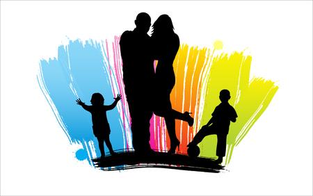 ide: Happy family Illustration Illustration