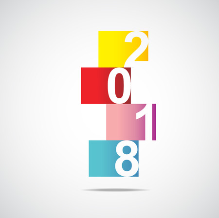 2018 year in squares
