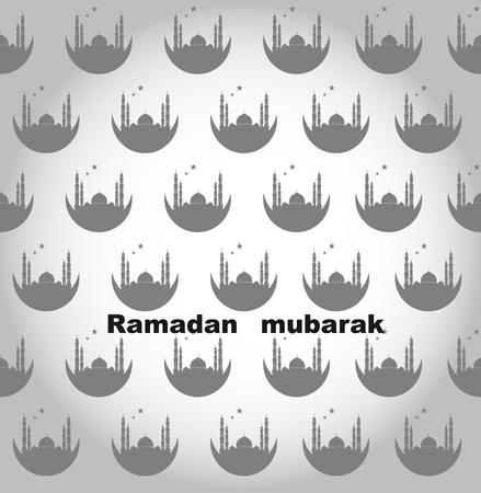 Creative Ramadan Mubarak design.