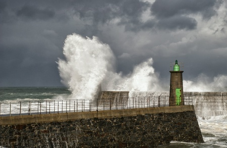 cantabrian: Wind, storm and waves  on the cantabrian coast