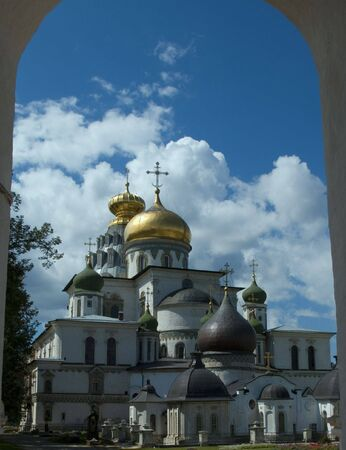 The new Jerusalem Voskresensky monastery Stock Photo