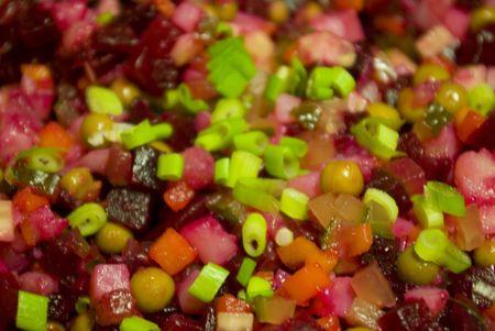 Savoureuse salade de l�gumes frais Banque d'images