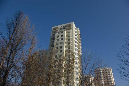 Nouveaux appartements dans un nouveau b�timent Banque d'images
