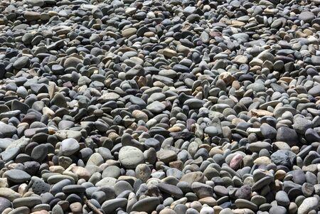 pierres sur une plage