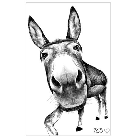 お尻大きい頭部を正面から見た図、見える黒と白のイラスト白黒 selfie カメラで写真を作る  イラスト・ベクター素材