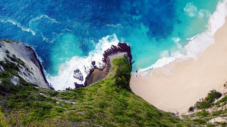 Kelingking beach on Penida island in Indonesia, Islands in the ocean