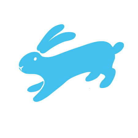rabbit icon. 矢量图像