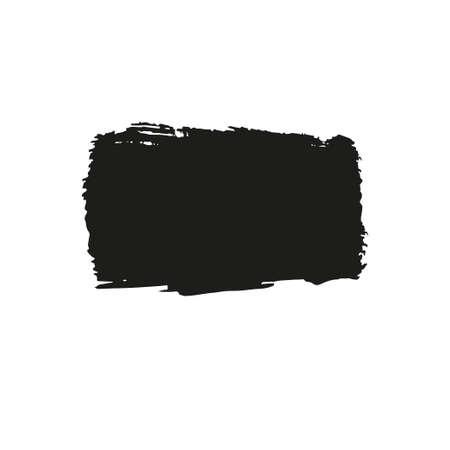 Brush stroke banner. Ilustração