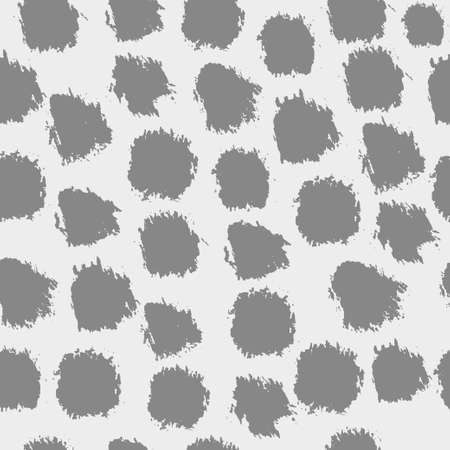 Seamless vector pattern with brush strokes.