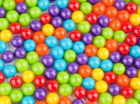 candy background: Colorful candy background Stock Photo
