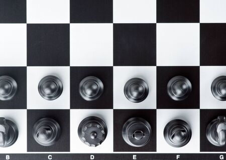 Chess board with chess pieces Stock Photo - 15476903