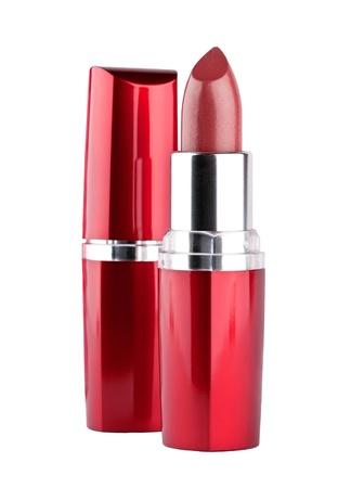 bright lipstick: Lipstick on white background