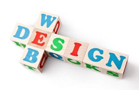 Web design on white background Stock Photo - 15473467