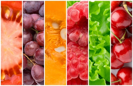 Healthy food backgrounds photo