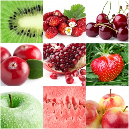 Healthy fresh fruits  photo
