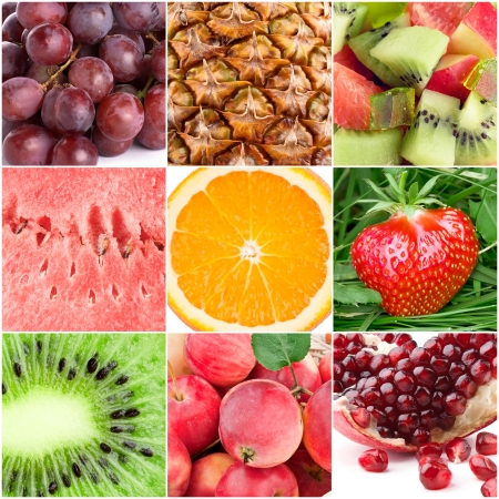berry fruit: Healthy fresh fruit backgrounds