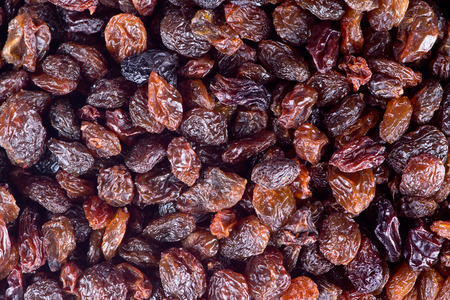 raisins: Black raisins texture  Stock Photo