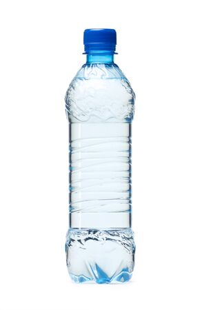 Small plastic water bottle Stock Photo - 23881817
