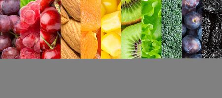 Healthy food background Archivio Fotografico