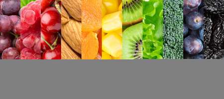 dieta saludable: Fondo de la comida sana