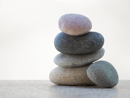 armonia: Pila de piedras. Concepto de equilibrio y armonía