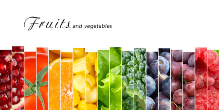 fresh: Fruits and vegetables concept. Fresh food