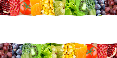 fresh fruits: Fresh fruits and vegetables. Healthy food concept