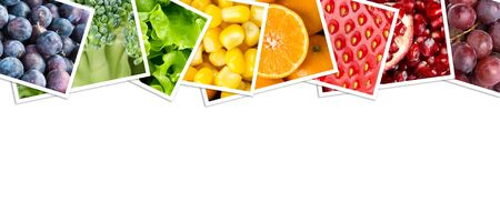 fresh concept: Fruit and vegetable. Fresh food concept