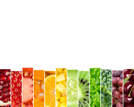 fresh concept: Fresh fruits and vegetables. Food concept. Fresh food