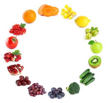 fresh concept: Fruits and vegetables. Food concept. Fresh food