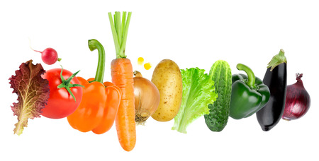 fresh concept: Vegetables. Healthy food concept. Fresh food