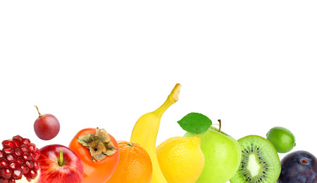 fresh concept: Fruits. Healthy food concept. Fresh food Stock Photo