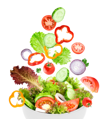vegetable salad: Vegetable salad. Fresh food