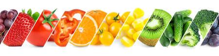 Fruits and vegetables. Fresh ripe food. Food concept 版權商用圖片