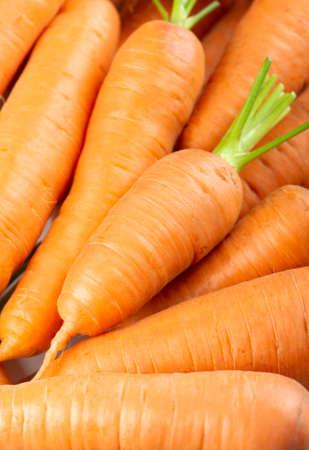 Carrot background. Fresh ripe vegetables