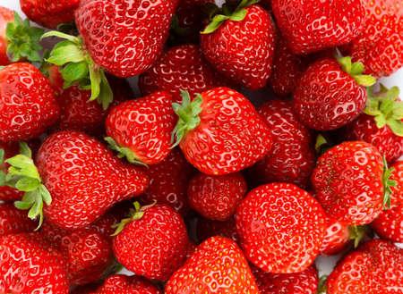 Strawberry. Ripe berries. Fruit background